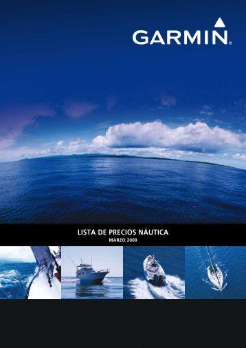 LISTA DE PRECIOS NÁUTICA - Garmin