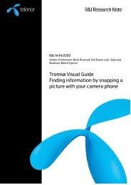 Tromsø Visual Guide - CAIM - Context Aware Image Management