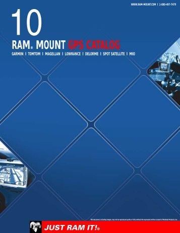 RAM® MOUNT GPS CATALOG - Gadgetrend