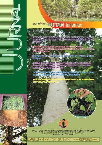 Cover dan Balikan.cdr - Pusat Litbang Hutan Tanaman