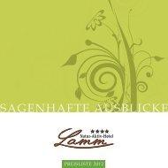 SAGENHAFTE AUSBLICKE - Hotel Lamm