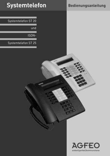 Systemtelefon ST 20 Und ISDN - NetKom GmbH