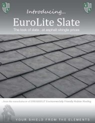 Click here to download EuroLite Slate brochure - Euroshield