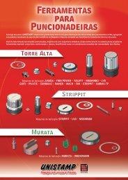 Catálogo Geral - Ferramentas para Puncionadeiras