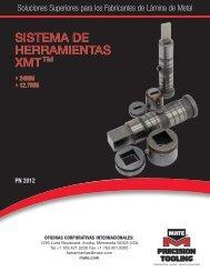 SISTEMA DE HERRAMIENTAS XMTTM - Mate Precision Tooling