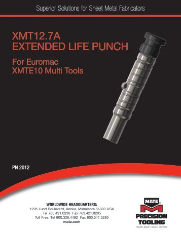 Download - Mate Precision Tooling