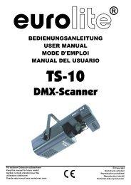EUROLITE TS-150 User Manual