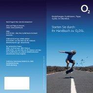 O2 DSL Handbuch - telenerds.de