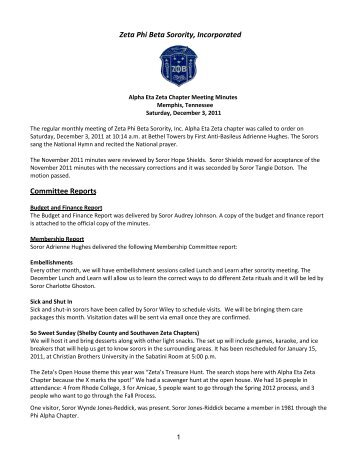 Zeta Phi Beta Sorority, Incorporated - Astounding Alpha Eta Zeta ...