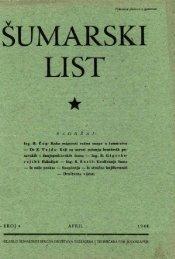 ŠUMARSKI LIST 4/1948