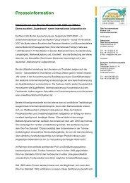 Oeko-Tex ® Presseinformation Februar 2008