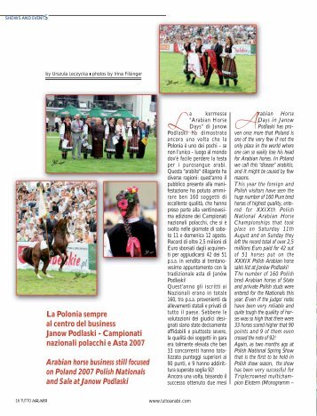 Arabian Horse - Tutto Arabi Magazine - home