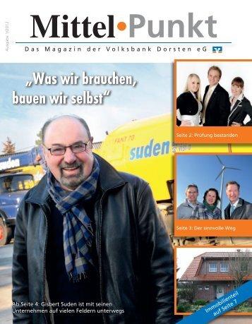Ausgabe 1/2012 - Volksbank Dorsten eG