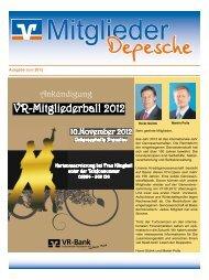 Ausgabe Juni 2012 - VR-Bank Uckermark-Randow eG