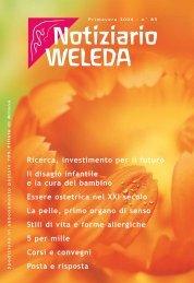Il disagio infantile - Weleda