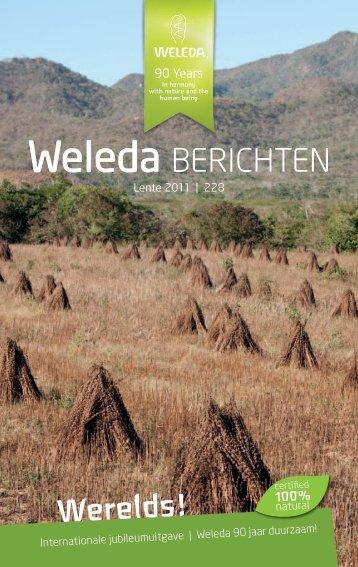 Weleda Berichten Lente 2011