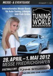 TUNING WORLD BODENSEE 2012 | Messe- & Eventguide