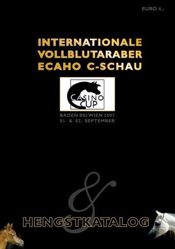 KATALOG 2007 (4,1 MB) ...>PDF Download - Exquisite Arabians