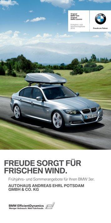 FREUDE SORGT FÜR FRISCHEN WIND.
