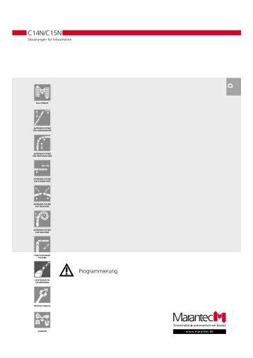 Programmierung - Marantec