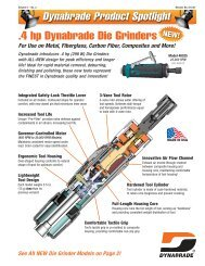 D10.07_Product Spotlight.qxp:Layout 1 - Dynabrade Inc.