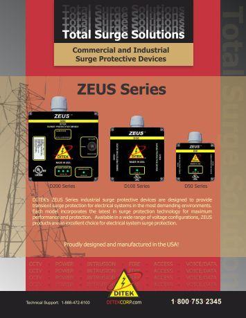 ZEUS Series Hotsheet3 - DITEK Corp.