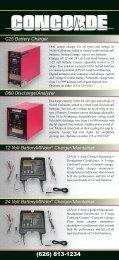 C25 Battery Charger D50 Discharge/Analyzer 12 Volt BatteryMINder ...