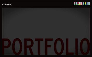 PORTFOLIO > JFK MAGAZINE MAARTEN VIS