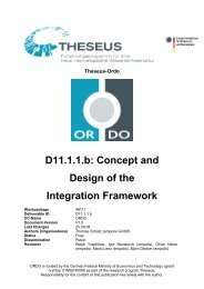 D11.1.1.b: Concept and Design of the Integration Framework - Eclipse