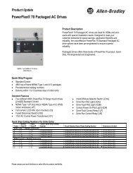 1395, 1397, and FlexPak 3000 DC Drives to PowerFlex DC Drive