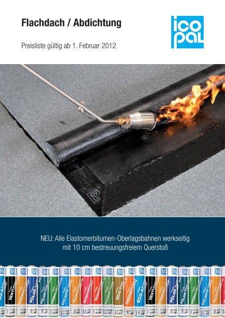 Flachdach / Abdichtung - Icopal GmbH