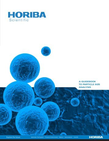 A GUIDEBOOK TO PARTICLE SIZE ANALYSIS - Horiba