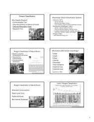 Stream Classification