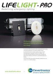 Life light Pro 092011 A4 layout.pdf - Clevertronics