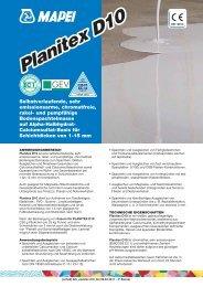 Planitex D10 - Mapei