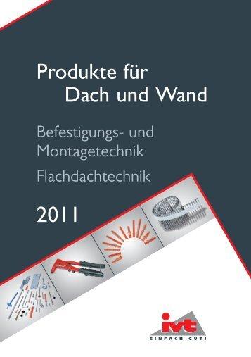 Produkte für Dach und Wand - ivt.de