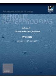 vorläufige Preisliste 2011 - gültig bis zum 31.03.2011 - Nova-tec.de