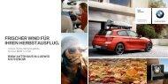 Unsere Angebote für Ihren BMW 1er. F20. (PDF - Autohaus Ludwig