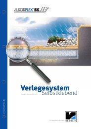 Verlegesystem Selbstklebend - RENOLIT WATERPROOFING