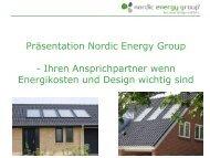 Präsentation Nordic Energy Group - Deutsch-Dänische ...