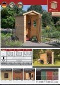 14mm Gartenhäuser - Karibu - Seite 2