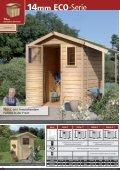 14mm Gartenhäuser - Karibu - Seite 3