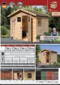 14mm Gartenhäuser - Karibu - Seite 4
