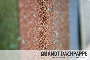 QUANDT DACHPAPPE - Dominik Obertreis