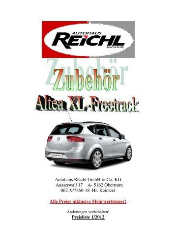 Altea XL - Autohaus Reichl