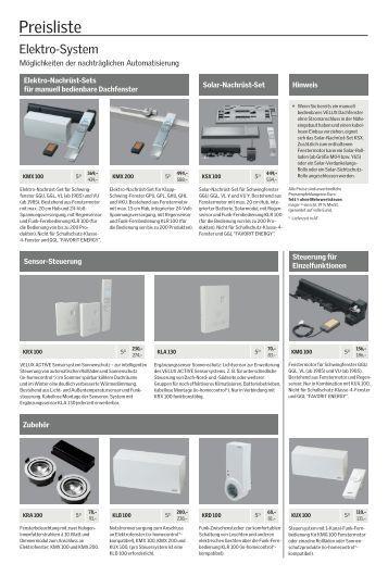 preisliste velux solarkollektoren und zubeh r. Black Bedroom Furniture Sets. Home Design Ideas