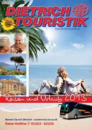 Katalog 2013 Österreich - PDF - Dietrich-Touristik