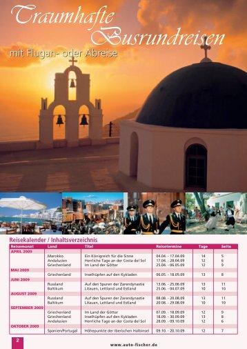 Andalusien - Auto Fischer Reisen