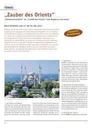 Reiseverlauf als PDF-Datei (243 KB) - Biblische Reisen