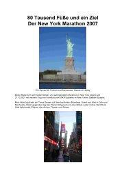 New York Marathon - LG Schefflenztal